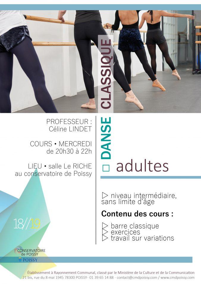 Danse classique adulte 18-19