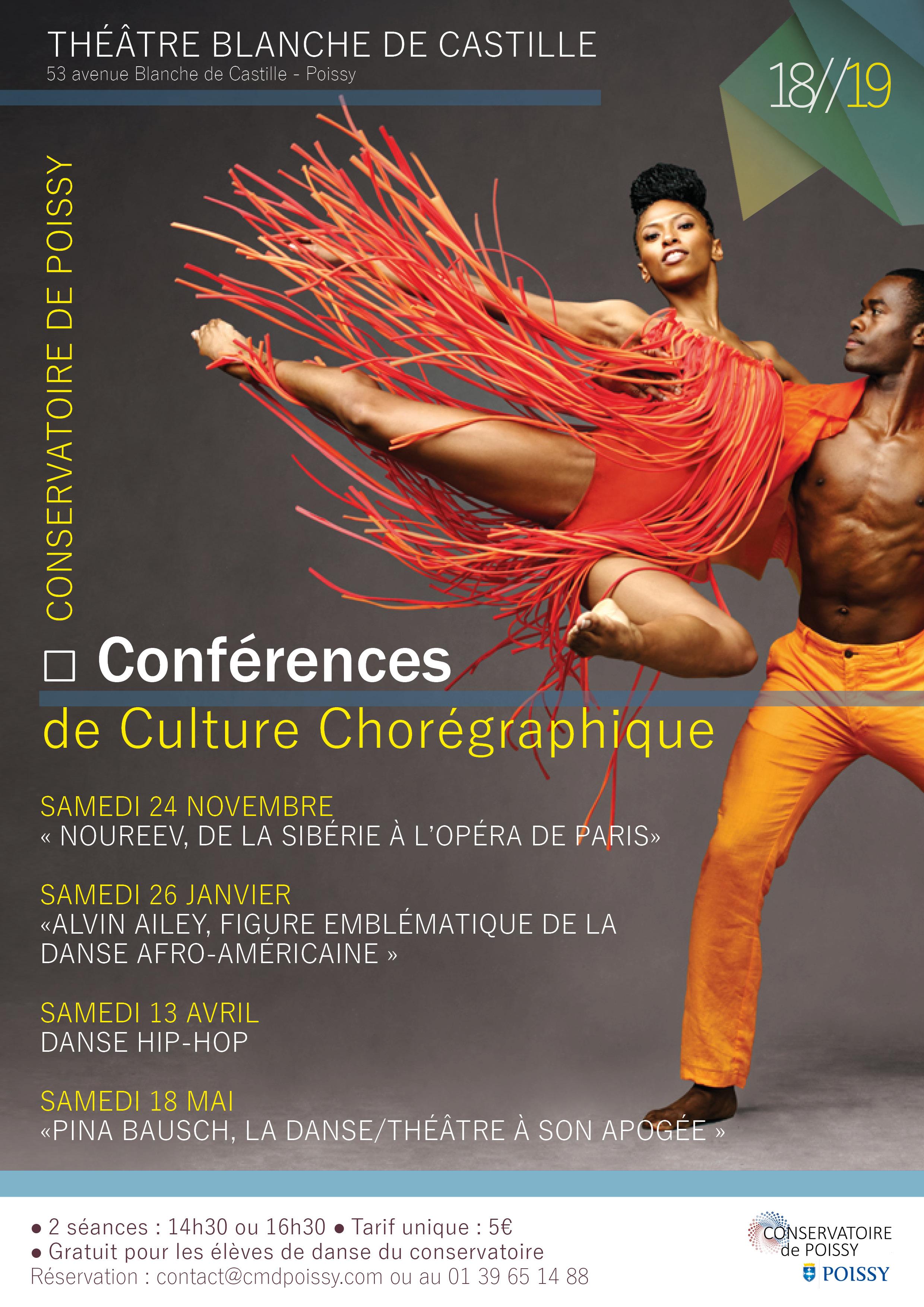 Parcours culture chorégraphique 18-19